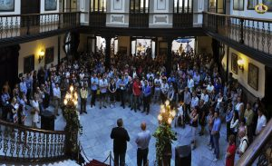 Civil reception during the 17th EAFP International conference in Las Palmas. Photo B.Gorgoglione.