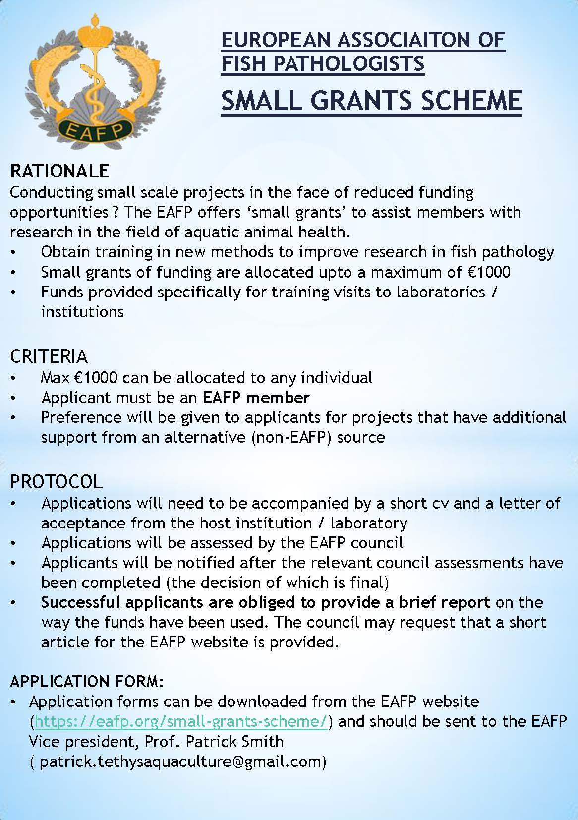 eafp-small-grants-scheme-flyer