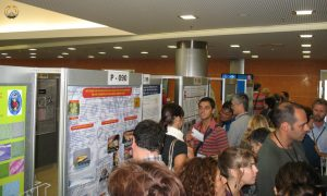 Busy Poster session during the 14th EAFP in Prague. Photo B.Gorgoglione.