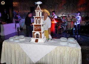 The EAFP cake in Split. Photo B.Gorgoglione.