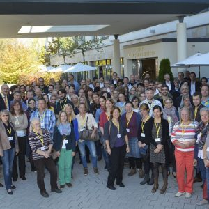 THE GROUP PICTURE AT THE XV BI-ANNUAL GERMAN SPEAKING EAFP BRANCHES MEETING IN STARNBERG, BAVARIA, GERMANY
